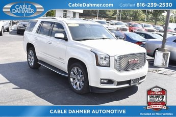 2015 White Diamond Tricoat GMC Yukon Denali SUV 4 Door Automatic 4X4