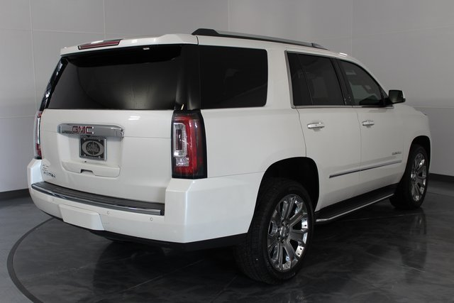 2016 White GMC Yukon Denali EcoTec3 6.2L V8 Engine 4 Door SUV Automatic 4X4