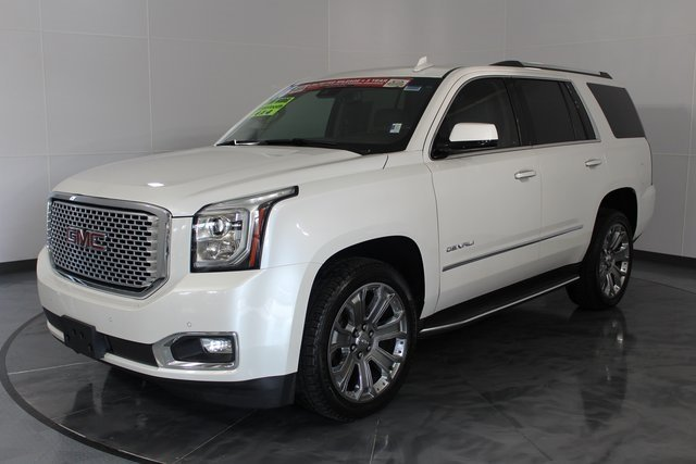 2016 White GMC Yukon Denali Automatic 4X4 SUV 4 Door EcoTec3 6.2L V8 Engine