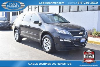 2016 Chevrolet Traverse LS Automatic SUV 4 Door FWD 3.6L V6 SIDI Engine
