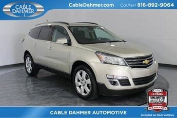 2016 Gold Chevy Traverse LT FWD 3.6L V6 SIDI Engine Automatic 4 Door SUV