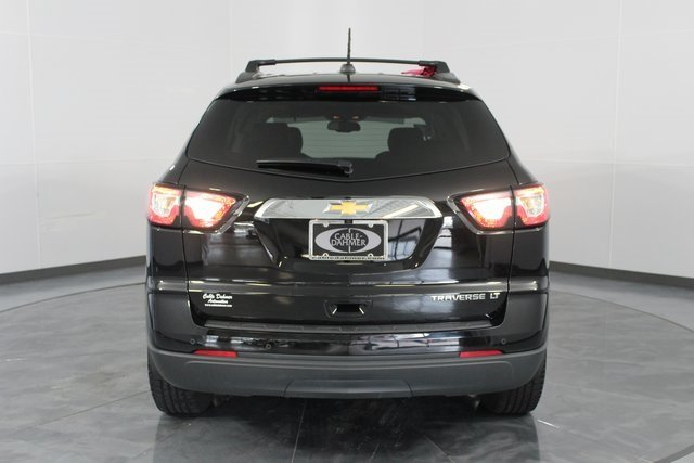 2016 Mosaic Black Metallic Chevy Traverse LT SUV 3.6L V6 SIDI Engine Automatic 4 Door