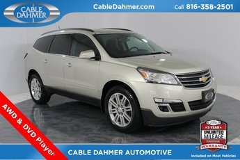 2013 Chevy Traverse LT 3.6L V6 SIDI Engine 4 Door Automatic AWD SUV