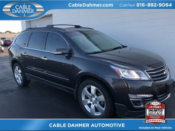 2013 Tungsten Metallic Chevy Traverse LTZ 3.6L V6 SIDI Engine 4 Door AWD