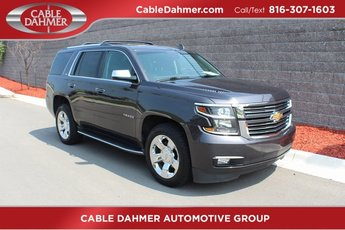 2016 Gray Chevy Tahoe LTZ Automatic 4X4 4 Door