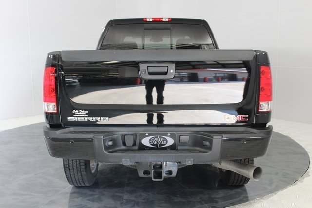2014 Onyx Black GMC Sierra 2500HD Denali Duramax 6.6L V8 Turbodiesel Engine Automatic 4 Door Truck