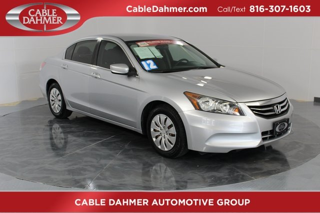 2012 Honda Accord LX Automatic FWD 2.4L I4 DOHC i-VTEC 16V Engine 4 Door Sedan