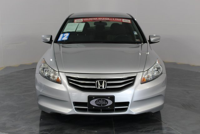 2012 silver Honda Accord LX FWD Sedan 4 Door 2.4L I4 DOHC i-VTEC 16V Engine Automatic