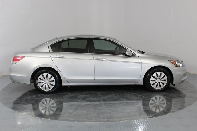 2012 silver Honda Accord LX FWD 4 Door Automatic 2.4L I4 DOHC i-VTEC 16V Engine Sedan