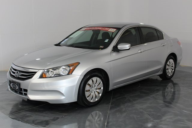 2012 silver Honda Accord LX 2.4L I4 DOHC i-VTEC 16V Engine 4 Door FWD