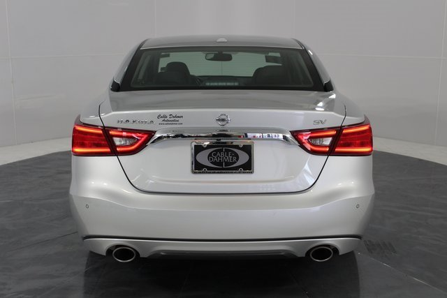 2017 Brilliant Silver Nissan Maxima SV Automatic (CVT) Sedan 4 Door FWD