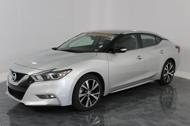 2017 Brilliant Silver Nissan Maxima SV Automatic (CVT) 4 Door 3.5L V6 DOHC 24V Engine FWD Sedan