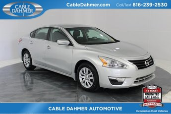 2015 Brilliant Silver Nissan Altima 2.5 S Sedan 4 Door Automatic (CVT) 2.5L I4 DOHC 16V Engine