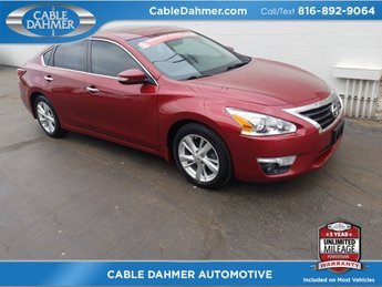 2015 Cayenne Red Nissan Altima 2.5 SL FWD Sedan 4 Door Automatic (CVT) 2.5L I4 DOHC 16V Engine