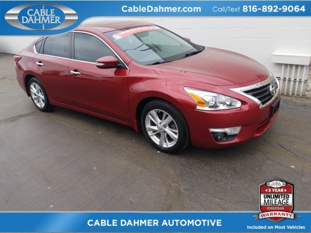 2015 Cayenne Red Nissan Altima 2.5 SL FWD 2.5L I4 DOHC 16V Engine Sedan Automatic (CVT)