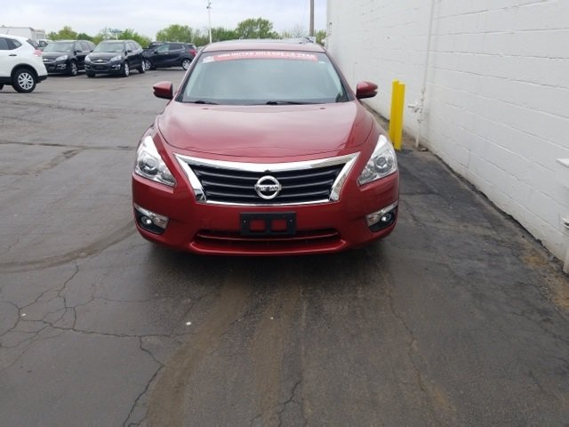 2015 Cayenne Red Nissan Altima 2.5 SL Sedan 2.5L I4 DOHC 16V Engine Automatic (CVT) FWD