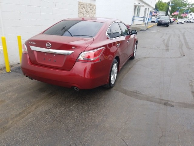 2015 Nissan Altima 2.5 SL Sedan Automatic (CVT) 4 Door FWD 2.5L I4 DOHC 16V Engine