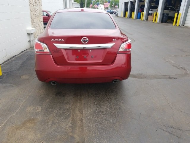 2015 Nissan Altima 2.5 SL Sedan FWD 2.5L I4 DOHC 16V Engine Automatic (CVT) 4 Door