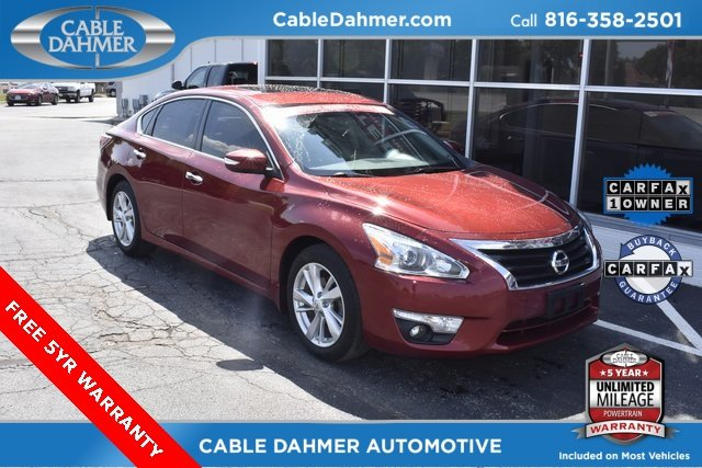 2015 Red Nissan Altima 2.5 SL Sedan Automatic (CVT) 4 Door 2.5L I4 DOHC 16V Engine