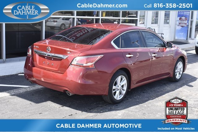 2015 Nissan Altima 2.5 SL 4 Door Sedan 2.5L I4 DOHC 16V Engine FWD Automatic (CVT)