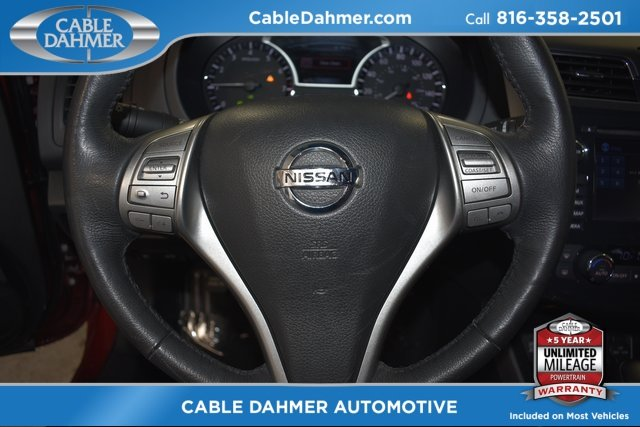 2015 Red Nissan Altima 2.5 SL FWD Automatic (CVT) 2.5L I4 DOHC 16V Engine Sedan 4 Door