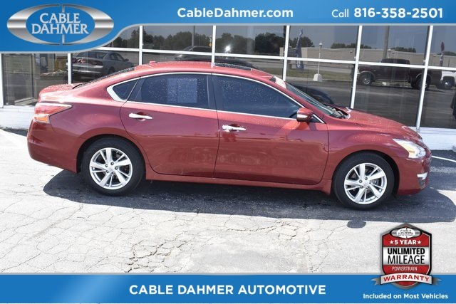 2015 Nissan Altima 2.5 SL 2.5L I4 DOHC 16V Engine Automatic (CVT) Sedan