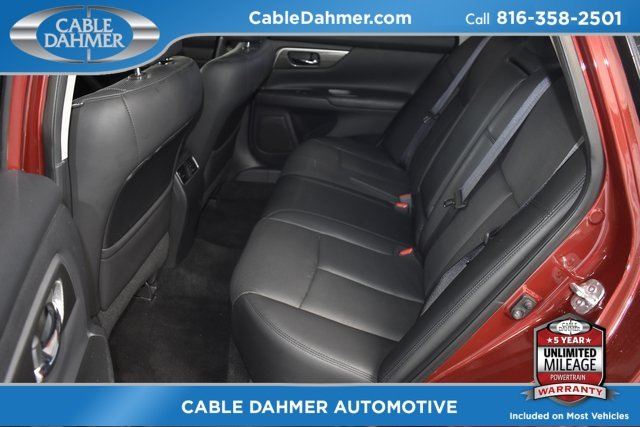 2015 Red Nissan Altima 2.5 SL Sedan Automatic (CVT) FWD 2.5L I4 DOHC 16V Engine