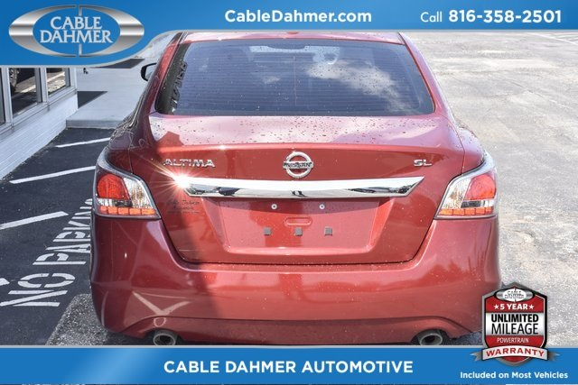 2015 Red Nissan Altima 2.5 SL Automatic (CVT) 4 Door FWD 2.5L I4 DOHC 16V Engine
