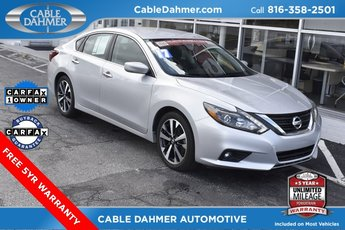 2017 Silver Nissan Altima 3.5 SR FWD Automatic (CVT) Sedan 4 Door