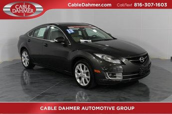 2013 Mazda Mazda6 i Touring Plus Sedan 2.5L 4-Cylinder DOHC 16V Engine Automatic