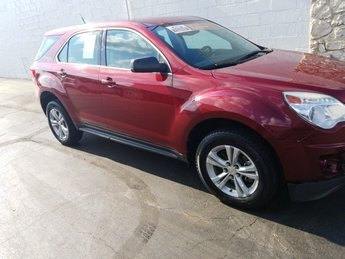 2010 Cardinal Red Metallic Chevrolet Equinox LS 2.4L 4-Cylinder SIDI DOHC Engine Automatic FWD 4 Door