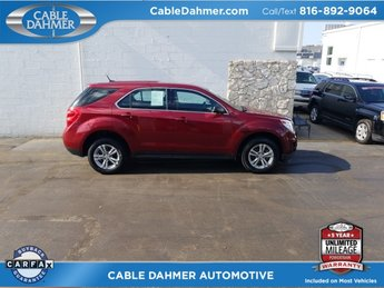 2010 Cardinal Red Metallic Chevy Equinox LS SUV 2.4L 4-Cylinder SIDI DOHC Engine FWD 4 Door