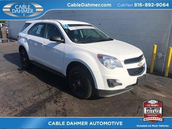 2010 Summit White Chevrolet Equinox LS 4 Door Automatic 2.4L 4-Cylinder SIDI DOHC Engine FWD