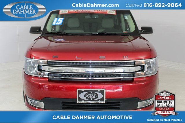 2015 Ford Flex SEL 3.5L V6 Ti-VCT Engine Automatic FWD 4 Door