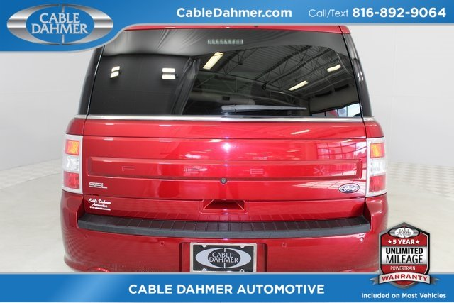2015 Ford Flex SEL Automatic FWD 3.5L V6 Ti-VCT Engine