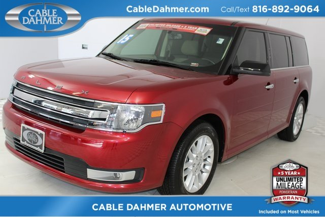 2015 Ford Flex SEL FWD Automatic SUV 3.5L V6 Ti-VCT Engine 4 Door