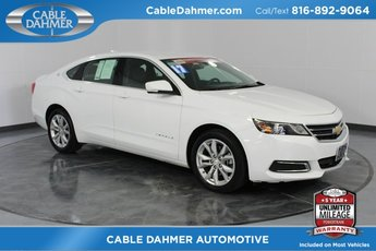 2017 Summit White Chevy Impala LT Sedan Automatic 4 Door 3.6L V6 DI DOHC Engine