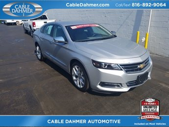 2017 Chevrolet Impala Premier 4 Door Sedan 3.6L V6 DI DOHC Engine FWD Automatic