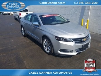 2017 Silver Ice Metallic Chevy Impala Premier 4 Door Automatic FWD