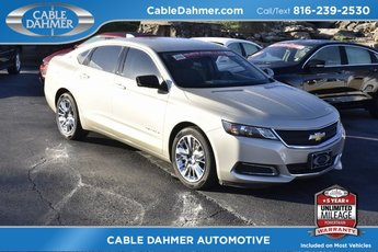 2015 Gold Chevy Impala LS FWD 4 Door Automatic Sedan ECOTEC 2.5L I4 DGI DOHC Engine