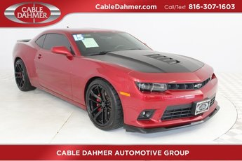 2015 Maroon Chevy Camaro SS RWD 6.2L V8 SFI Engine Coupe 2 Door Manual