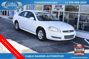 2014 Chevy Impala Limited LS 4 Door FWD Sedan