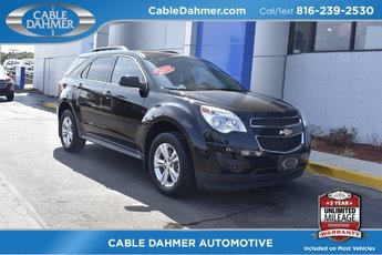 2015 Black Chevrolet Equinox LT FWD 4 Door 2.4L 4-Cylinder SIDI DOHC VVT Engine
