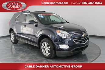 2016 Blue Chevy Equinox LT FWD 4 Door SUV