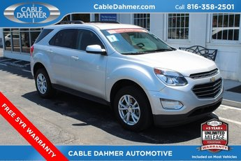 2017 Silver Ice Metallic Chevy Equinox LT SUV Automatic 4 Door 2.4L 4-Cylinder SIDI DOHC VVT Engine
