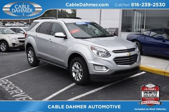 2016 Silver Ice Metallic Chevy Equinox LT Automatic 4 Door 2.4L 4-Cylinder SIDI DOHC VVT Engine FWD