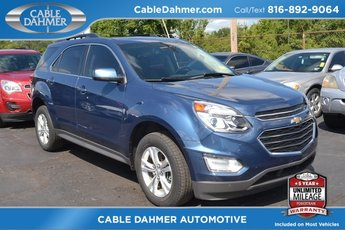 2016 Chevy Equinox LT SUV AWD 4 Door Automatic 2.4L 4-Cylinder SIDI DOHC VVT Engine