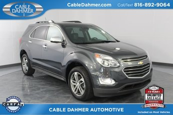 2017 Gray Chevy Equinox Premier AWD 2.4L 4-Cylinder SIDI DOHC VVT Engine SUV 4 Door Automatic