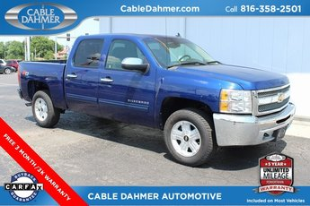 2013 Blue Topaz Metallic Chevy Silverado 1500 LT 4X4 4 Door Automatic