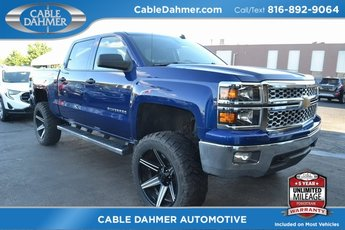 2014 Blue Chevy Silverado 1500 LT Automatic 4 Door EcoTec3 5.3L V8 Flex Fuel Engine